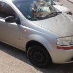 VYDRAŽENÉ ! - Plánovaná dražba motorového vozidla Daewoo Kalos